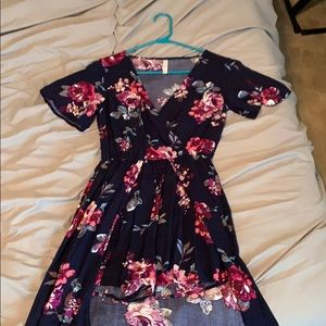 Blue/Pink romper with skirt from Target, size xs